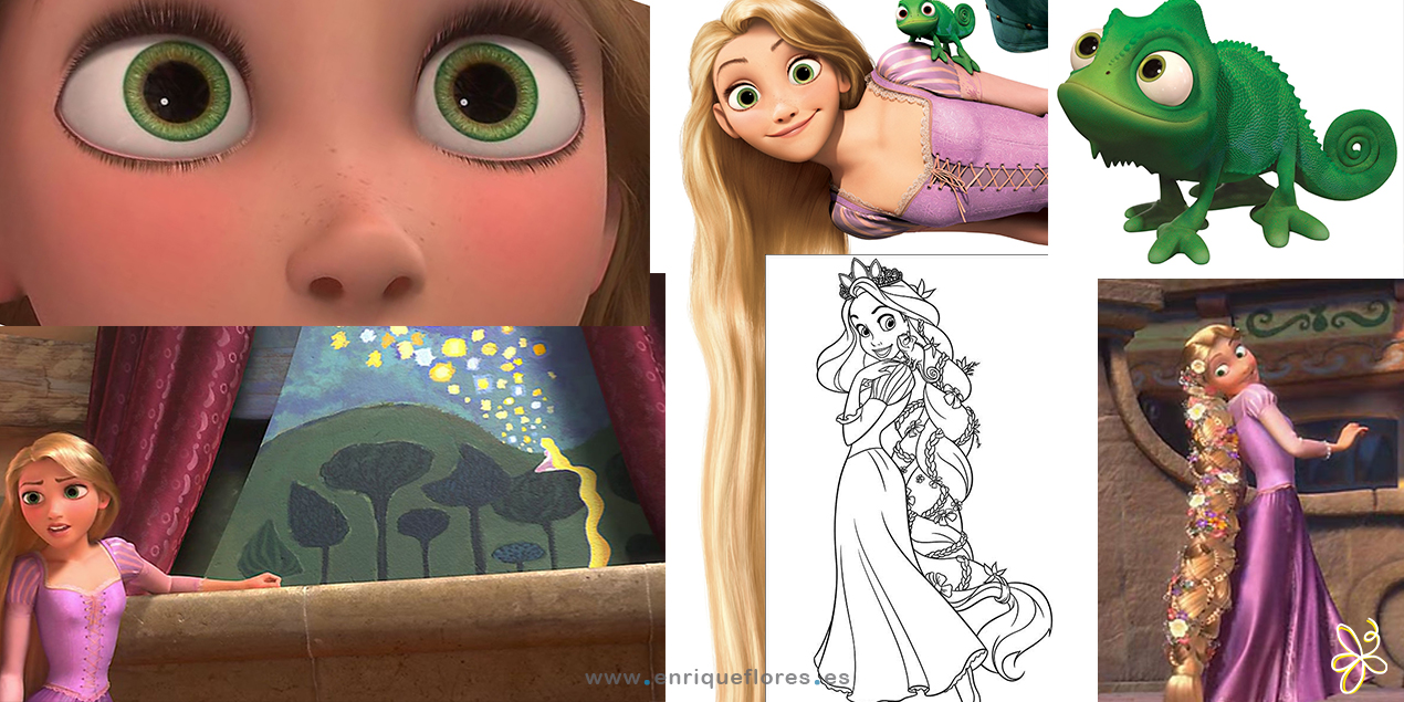 Rapunzel of tangled