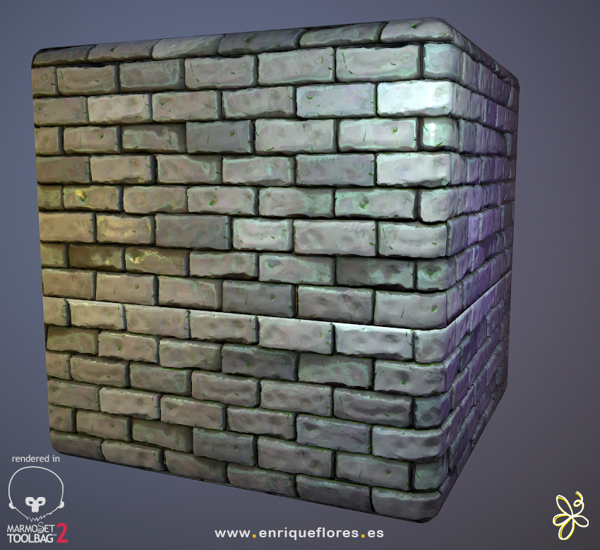tiles textures 3d by enrique flores