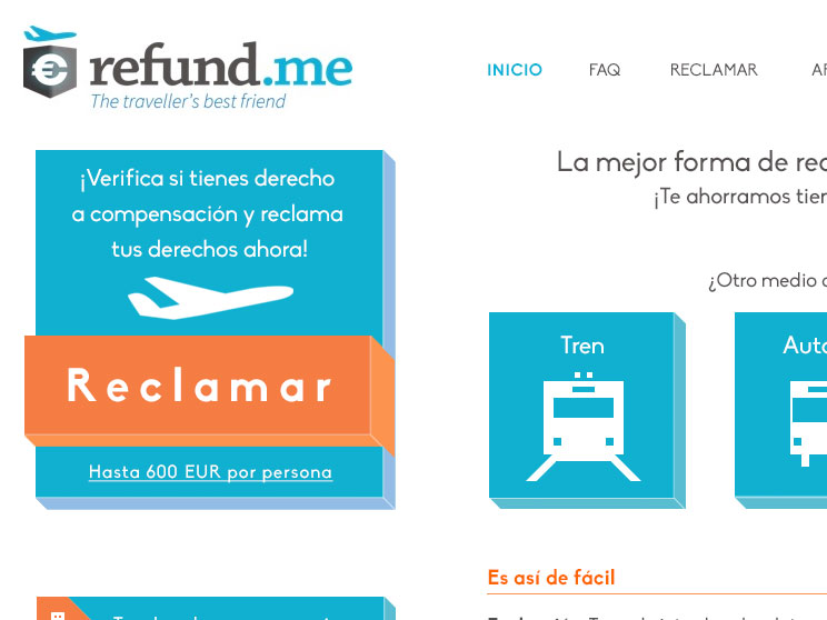 Refundme web test